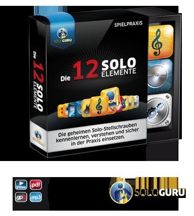 Die 12 Solo-Elemente Gitarrenkurs